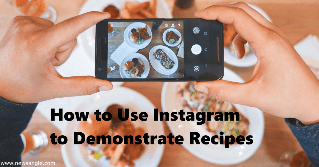 How to use instagram to demonstrate recipes lee esposito associates using instagram to demonstrate recipes has never been better because videos are now just one minute which is more than enough time forumfinder Images