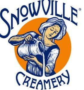Snowville Milk Maid Logo